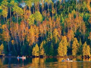 Canoeing in the Fall