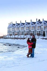 Winter Couple at Bluefin Bay