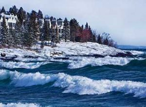 Winter at Bluefin Bay Family of Resorts