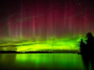 John Alexander Kay Northern LIghts in the Boundary Waters