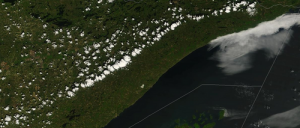Lake Superior breeze visible from space