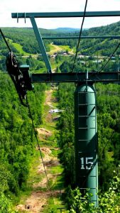 New Gondola Being Built at Lutsen Mountains