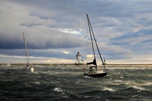 Rough Sailing Today
