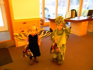 Trick or Treaters at Bluefin Bay