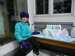 Snow Sculpting at Bluefin