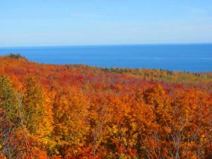 Fall colors on the North Shore