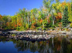 Fall Colors at Temperance River