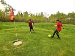 FootGolf at Superior National Golf Course