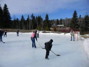 Ice Rink at Bluefin Bay