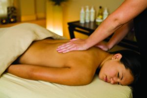 Massage at Waves of Superior Spa