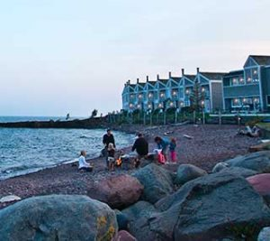Bluefin Bay Family of Resorts Campfire by the beach