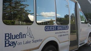 Bluefin Bay Shuttle Bus
