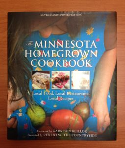 Minnesota Homegrown Cookbook Cover