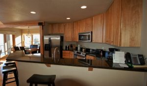 Surfside on Superior Unit 7 Kitchen