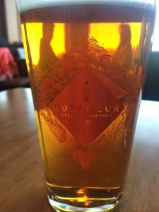 Voyageur Brewing Company Beer at Bluefin Grille