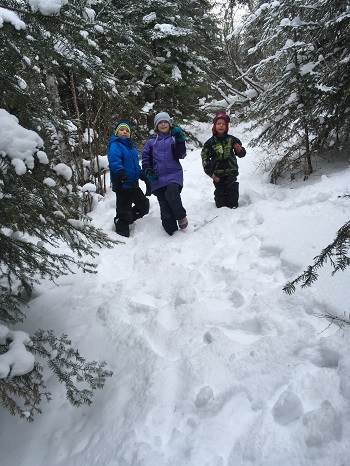Kids Winter Adventure Hike