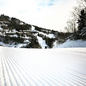 Lutsen Mountains Ski Run