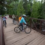 Biking at Temperance River State Park