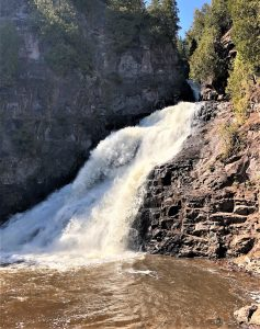Caribou Falls in Spring