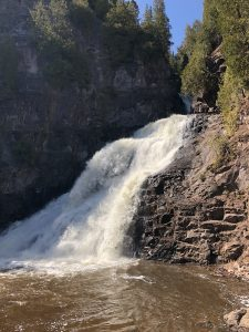 Caribou Falls in the Spring