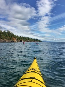 Guided Kayaking on Lake Superior