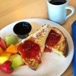 Waves of Superior Cafe Stuffed French toast