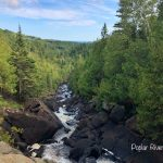 The Poplar River at Lutsen Mountains