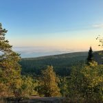 Oberg Mountain Loop Lake Superior Lookout in Early Fall