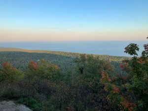 Oberg Mountain Southeast Lookout in Early Fall