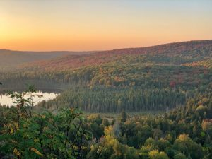 Fall Sunset Hike on Oberg Mountain