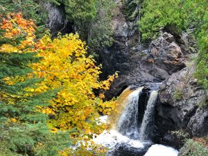 Fall at Cascade River State Park