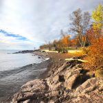 Temperance River Beach Late Fall