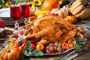 Thanksgiving at Bluefin Grille