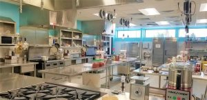 culinary school kitchen in grand marais