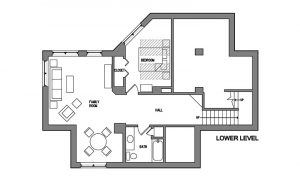Temperance Landing Log Home Floor Plan