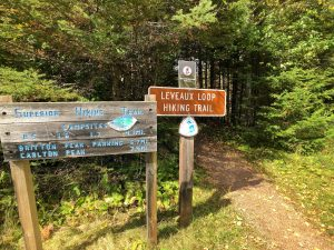 Leveaux Mountain on Superior Hiking Trail