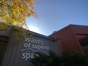 waves of superior spa exterior