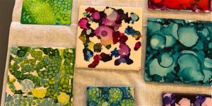 Alcohol Ink Painting Intro Class
