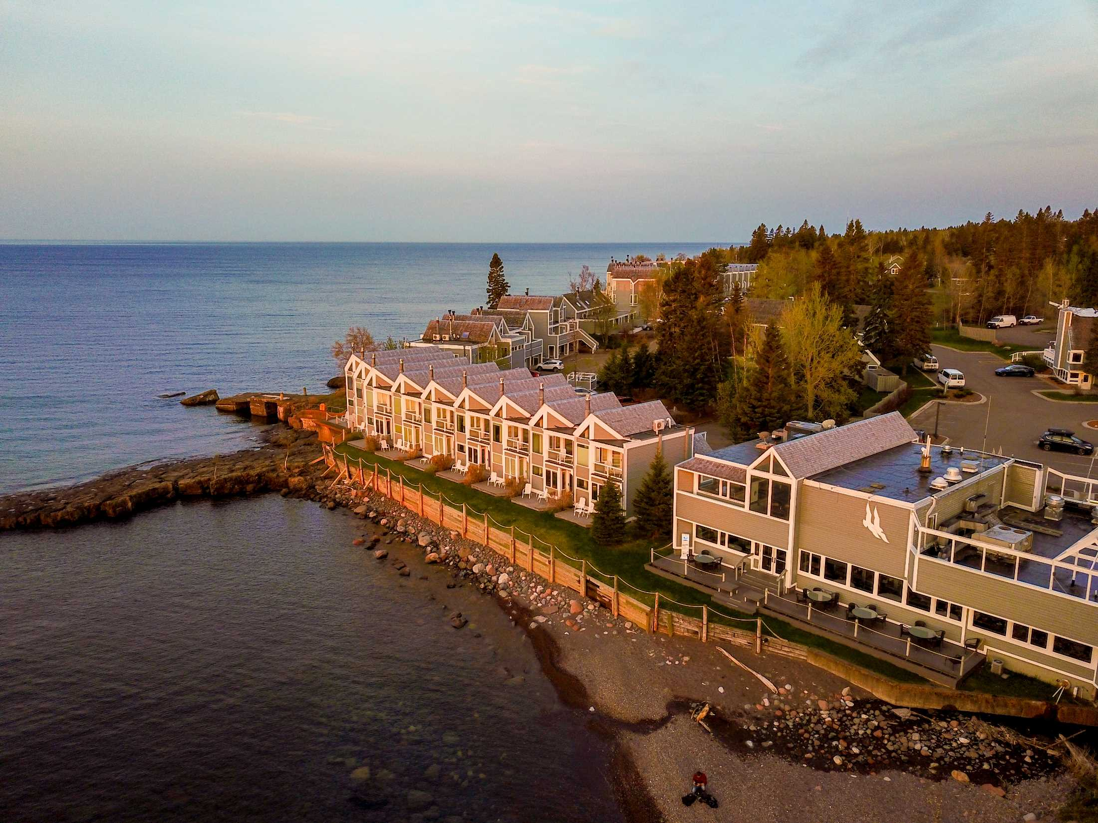 Bluefin Bay on Lake Superior Summer