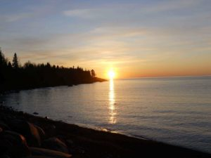 Lake Superior Sunrise - Bluefin Bay