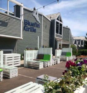 Bluefin Grille Outdoor Patio Dining - Bluefin Bay