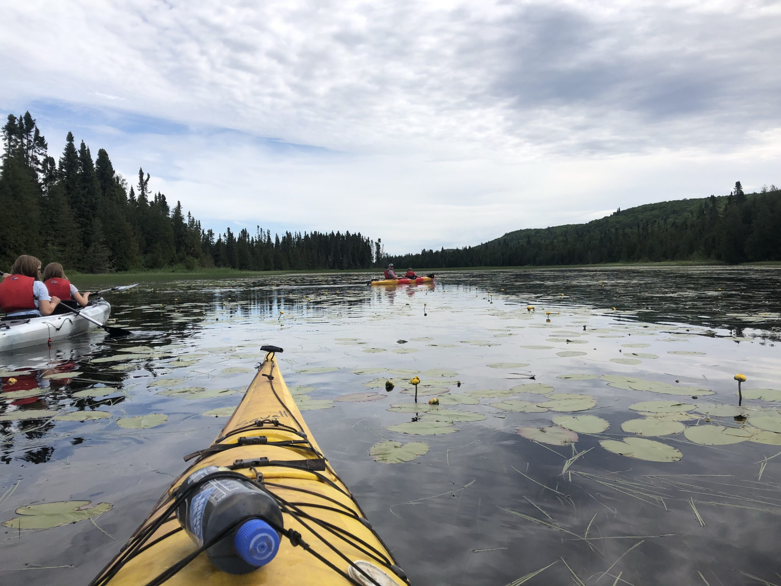Inland Kayaking on Caribou Lake