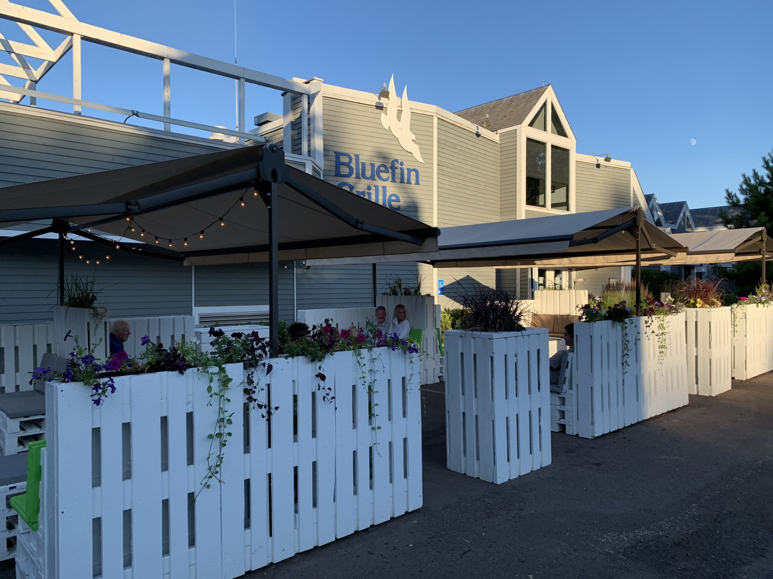 Bluefin Grille Outdoor Dining - New Patio