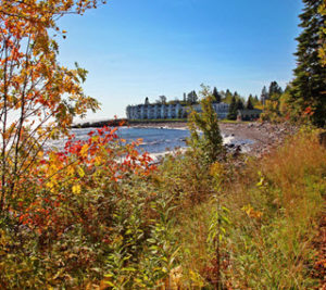 Bluefin Bay Resort Autumn Sky Over Superior