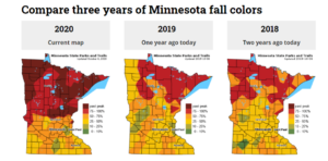 Fall Color Map Comparison