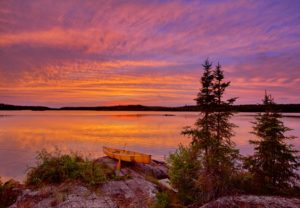 August Calendar Boundary Waters