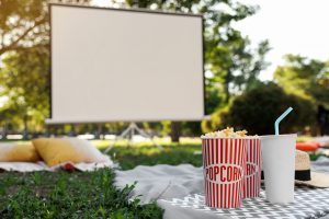 Outdoor Movie at Surfside