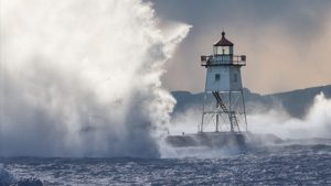 Waves and Lighthouse