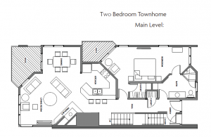 Two Bedroom Townhome Main level